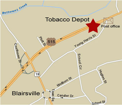 The Tobacco Depot Is Located In The Shopping Mall Beside The U S Post Office Across The Street From Home Depot In Blairsville Georgia